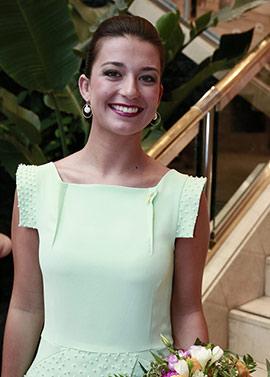 Nombramiento de Andrea Sánchez como Na Violant 2019