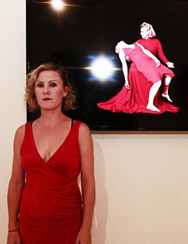 153 cm sobre el mar, exposición de la artista Ruth Frías