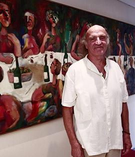 NH Mindoro acoge la exposición de Pepe Ribes