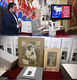 Donación del legado fotográfico de Matilde Salvador a la Diputación de Castellón