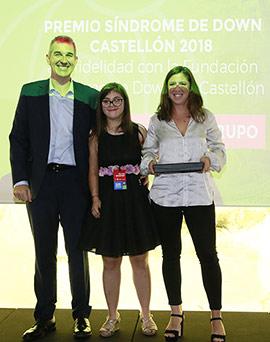 Premios Síndrome de Down Castellón 2018