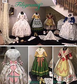 Filigranes confecciona los trajes de la reina infantil de Onda
