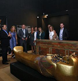 Exposición en Castellón sobre los ritos funerarios del antiguo Egipto