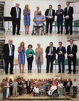 Entrega de 100.000 euros a proyectos sociales de 39 asociaciones de Castellón