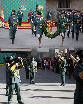 Acto conmemorativo de la patrona de la Guardia Civil, la Virgen del Pilar