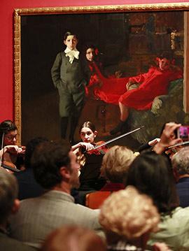 El talento de jóvenes músicos de Castellón se pone en valor en el Museo Sorolla de Madrid