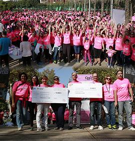 Un Paseo por la Vida Castellón, marcha solidaria contra el cáncer de mama