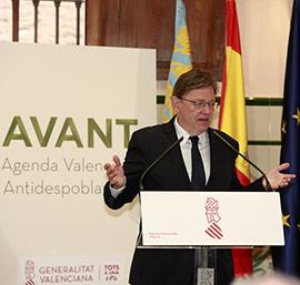 Presentación de las ayudas para municipios valencianos en peligro de despoblación