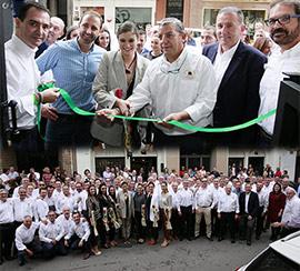 Inauguración del nuevo local social de L´Olla de la Plana