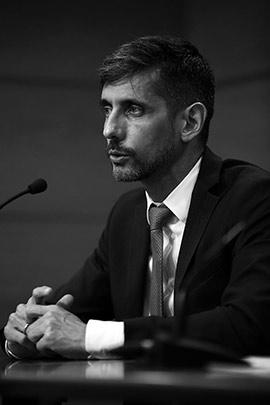 Eduardo López Collazo en la Fundación Caja Castellón
