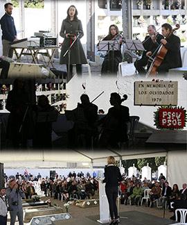 Acto civil en Castellón en recuerdo a las víctimas del franquismo