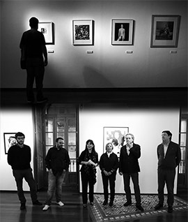 Inauguración de la exposición LA (Mujer en la fotografía o el coleccionista por amor)
