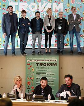 Inauguración de la Feria Valenciana de la Música Trovam – Pro Weekend