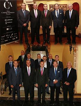 Homenaje a los socios con más de 50 años de pertenencia al Real Casino Antiguo de Castellón
