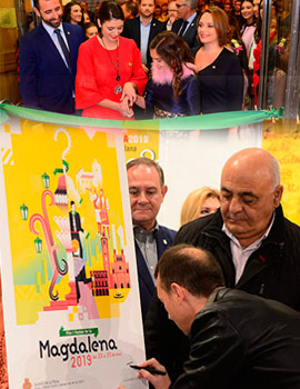 Inauguración de la exposición del Concurso de Carteles Magdalena 2019