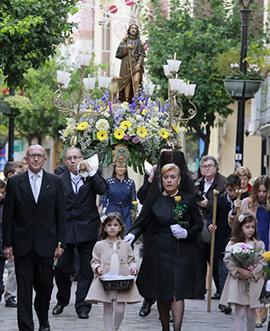 Procesión en honor a Sant Roc de la Vila