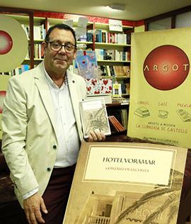 Presentación del libro Hotel Voramar de González de la Cuesta