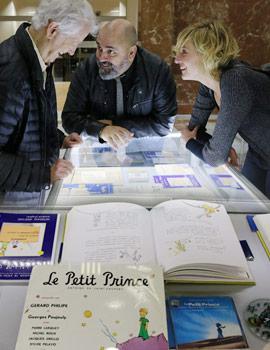 Exposición sobre El Principito en el edificio Menador