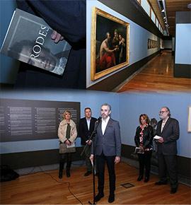 Inauguración de la exposición de Vicente Rodes en el Museo de Bellas Artes de Castellón