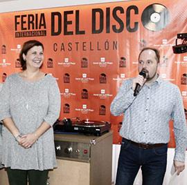 Inauguración de la 3ª Feria Internacional del Disco Castellón