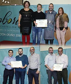 Premios de la Ruta de Tapas Sabores Castellón