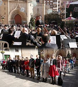 Concierto de la Banda Municipal de Castellón por el Día de la Constitución