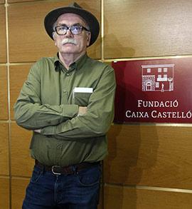 Eudald Carbonell, vicepresidente de Atapuerca, en la Fundación Caja Castellón