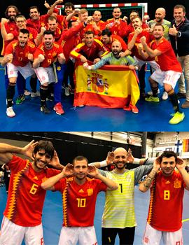Varios futbolistas del CD Castellón – ASORCAS se proclaman campeones de Europa con la Selección Española de Fútbol para Sordos