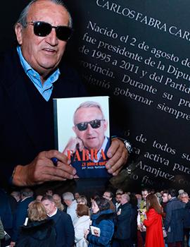 """Carlos Fabra presenta su libro """"FABRA : ¿Y AHORA QUÉ?"""""""