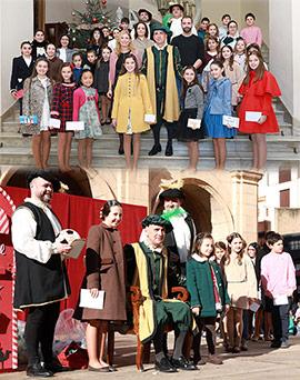 Llegada del Cartero Real a Castellón