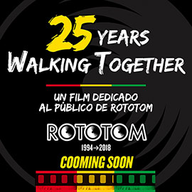 25 Years Walking Together, vídeo del aniversario del Rototom