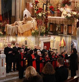Cor Pentecosta, misa y concierto de Navidad