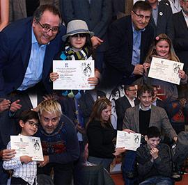 Entrega de premios del IX Concurso de tarjetas navideñas Jesús Medrano