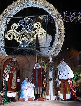 Cabalgata de los Reyes  Magos en Castellón