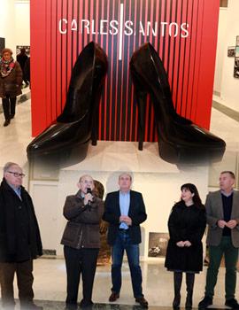 Exposición homenaje a Carles Santos en la Fundación Caja Castellón