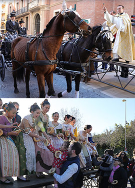 Festividad de San Antonio en Castellón