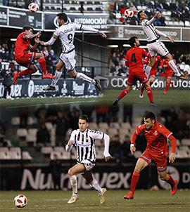 El CD Castellón cae dignamente frente al Espanyol B