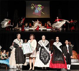 Sofía y Lucía, proclamadas madrinas de la Gaiata 19, La Cultural
