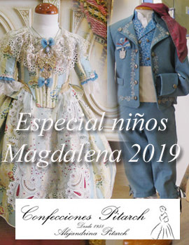 Especial trajes tradicionales para niños Magdalena 2019