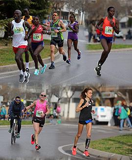 Imágenes del km 13 de Marató BP Castelló