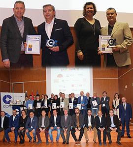 Entregados los V Premios GastroCope de la provincia de Castellón