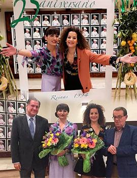 25 aniversario de Lorena como reina de la Magdalena 1994
