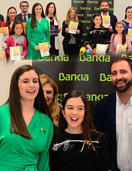 Presentación del programa oficial de la Magdalena en Bankia