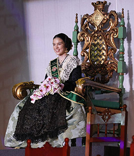 Galania infantil 2019 en honor a la reina Natalia Collazos