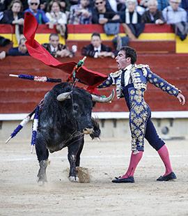 Paco Ramos, Abel Valls y Vicente Soler en la Feria de la Magdalena 2019