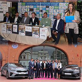 Presentación del campeonato autonómico de pádel por equipos absolutos