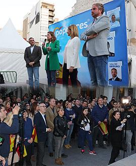 Acto de inicio de campaña del Partido Popular en Castellón