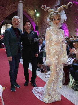 Los diseños de Higinio Mateu en el MAP, moda al Palau de Betxí