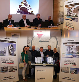 sanahuja∂ners presenta el proyecto residencial Castellon Homes