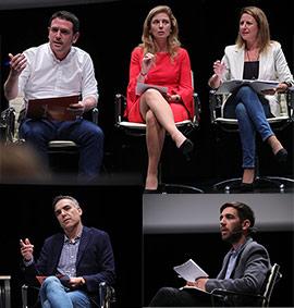 Debate municipal entre candidatos a la Alcaldía de Castelló